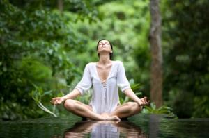 meditation white pic